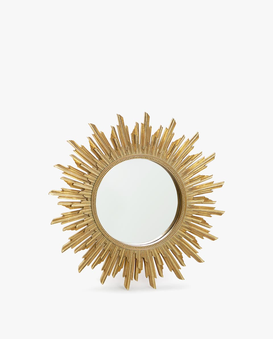 SMALL SUN-SHAPED MIRROR