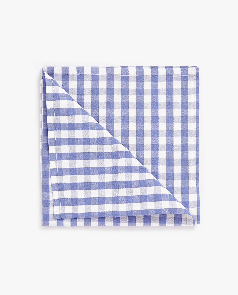GINGHAM CHECK NAPKIN (SET OF 2)