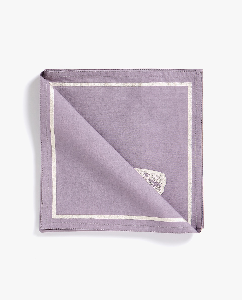 BUTTERFLY PRINT NAPKIN (PACK OF 4)