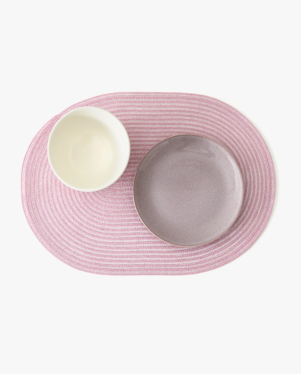OVAL PLACEMAT (PACK OF 2)