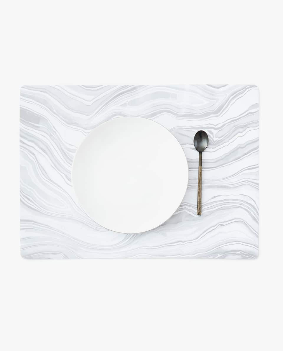 MARBLE-EFFECT PLACEMAT (PACK OF 4)