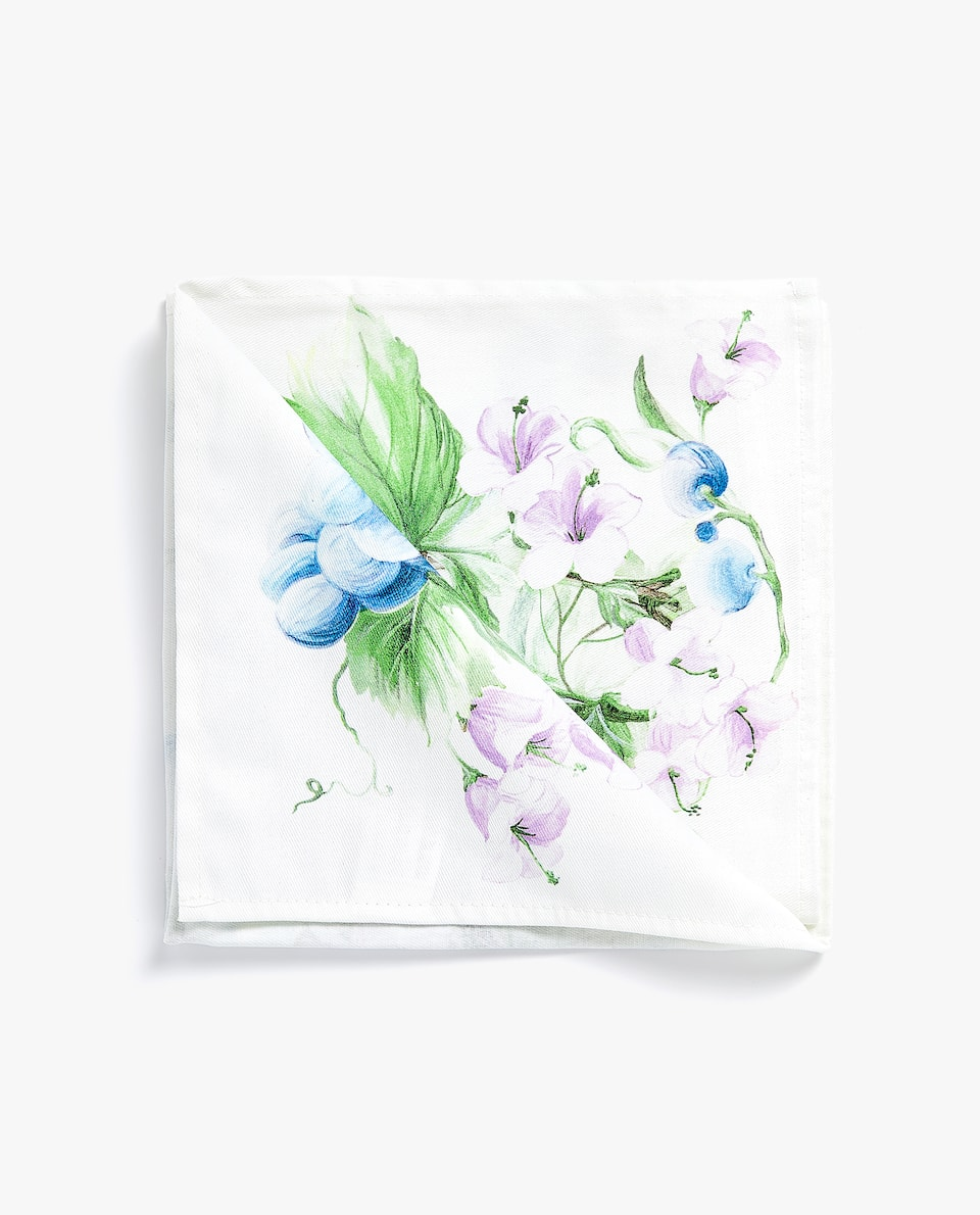 GRAPE PRINT NAPKIN (PACK OF 4)