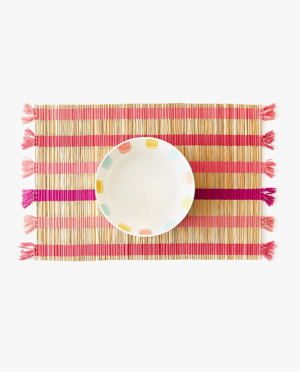 NATURAL FIBRE PLACEMAT (PACK OF 2)