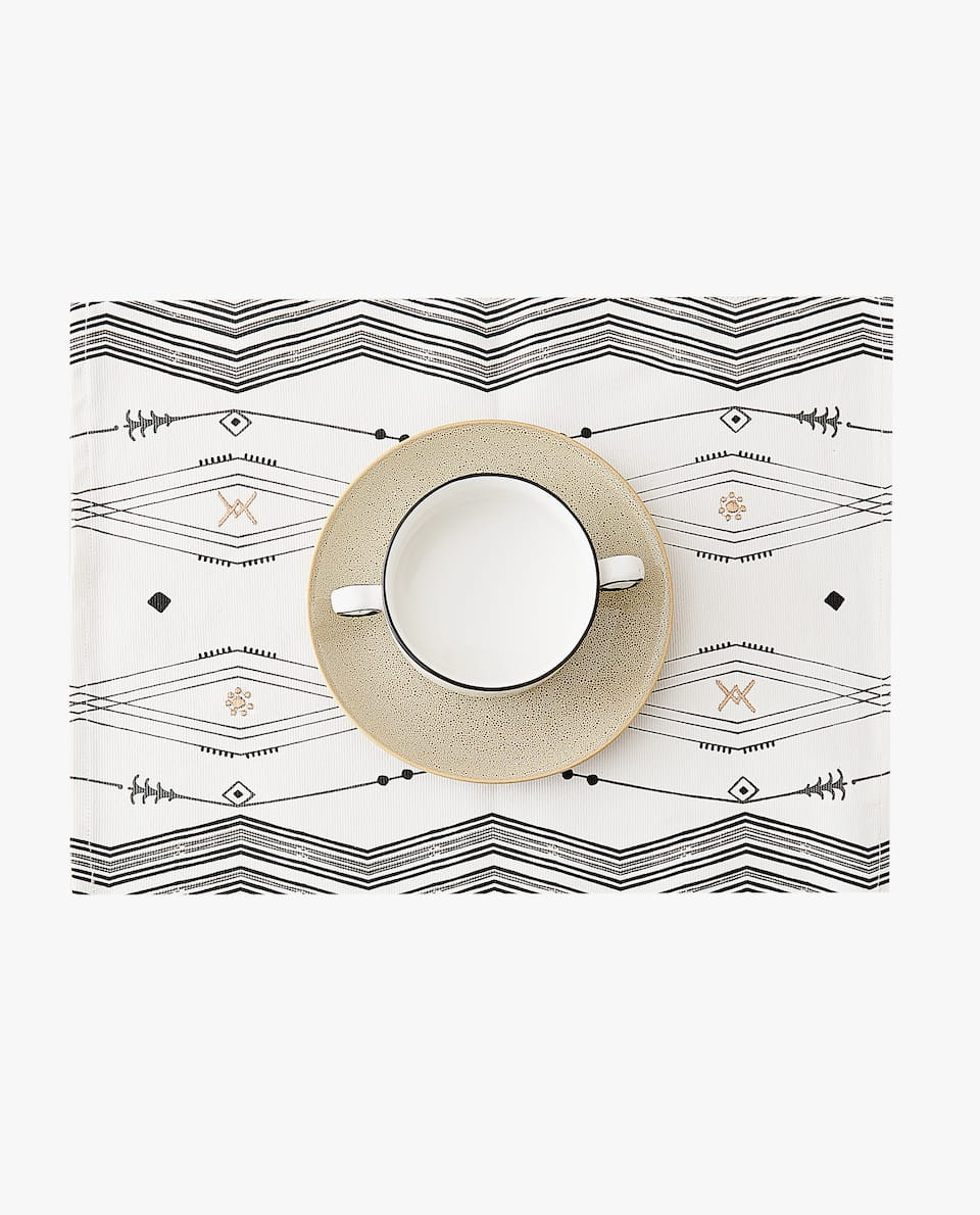 TRIBAL DESIGN PLACEMAT (PACK OF 2)