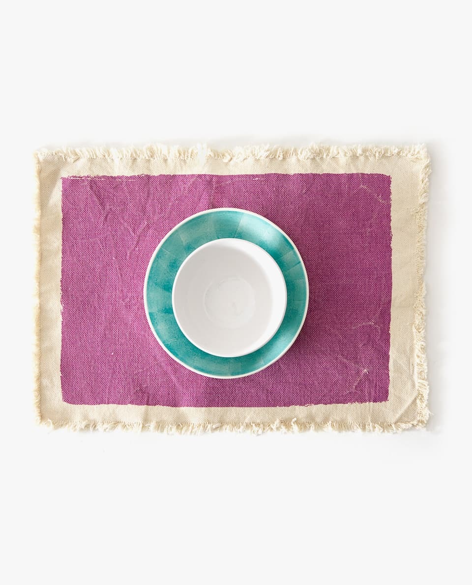 PLACEMAT WITH BORDER (PACK OF 2)