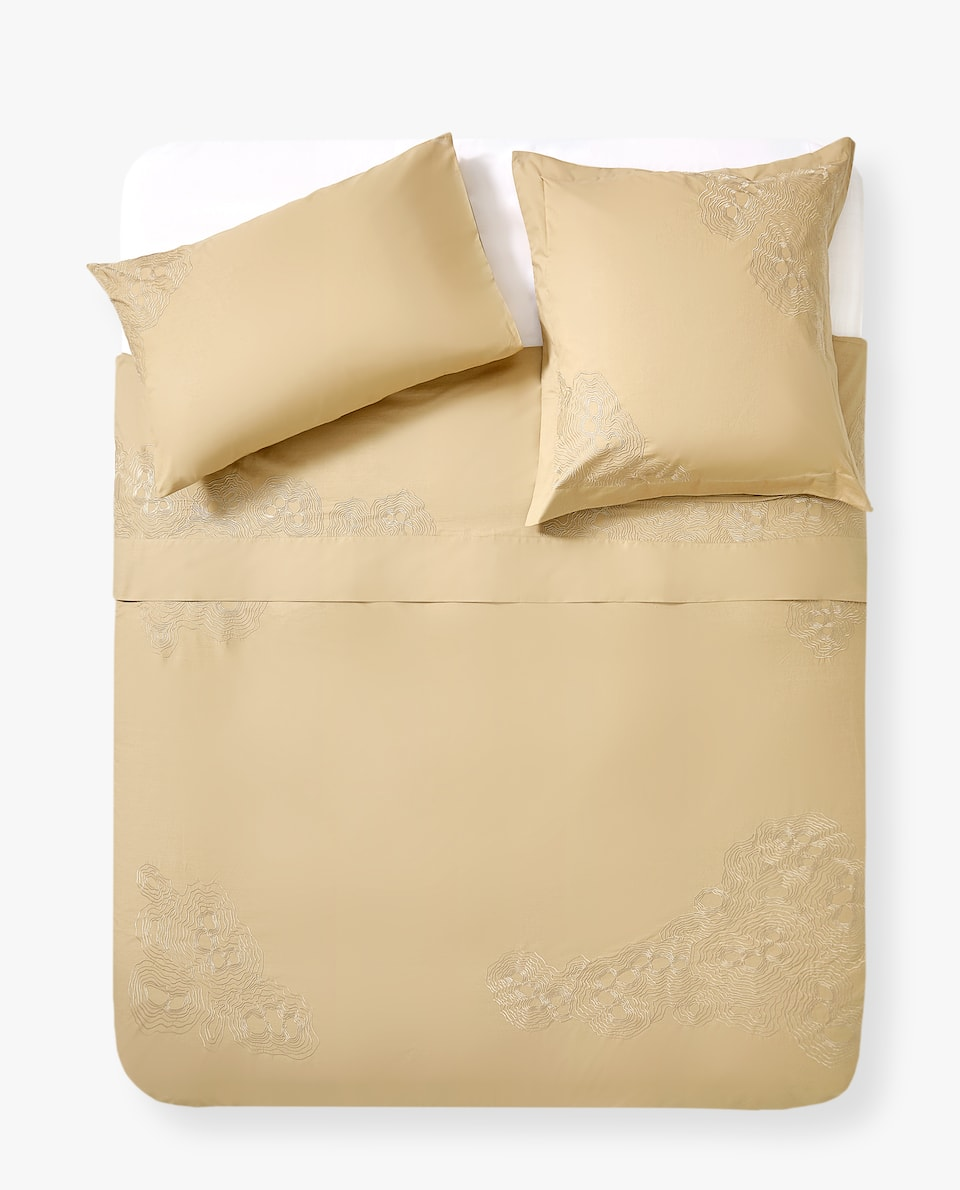 EMBROIDERED MINERALS DUVET COVER