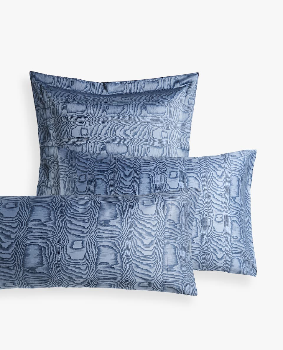 MOIRÉ PRINT PILLOWCASE