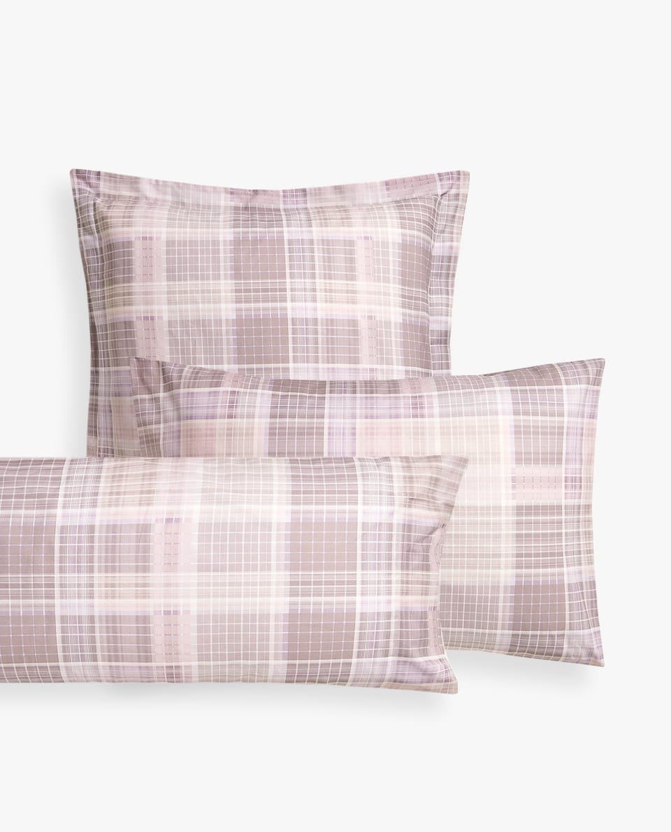 CHECKERED PILLOWCASE