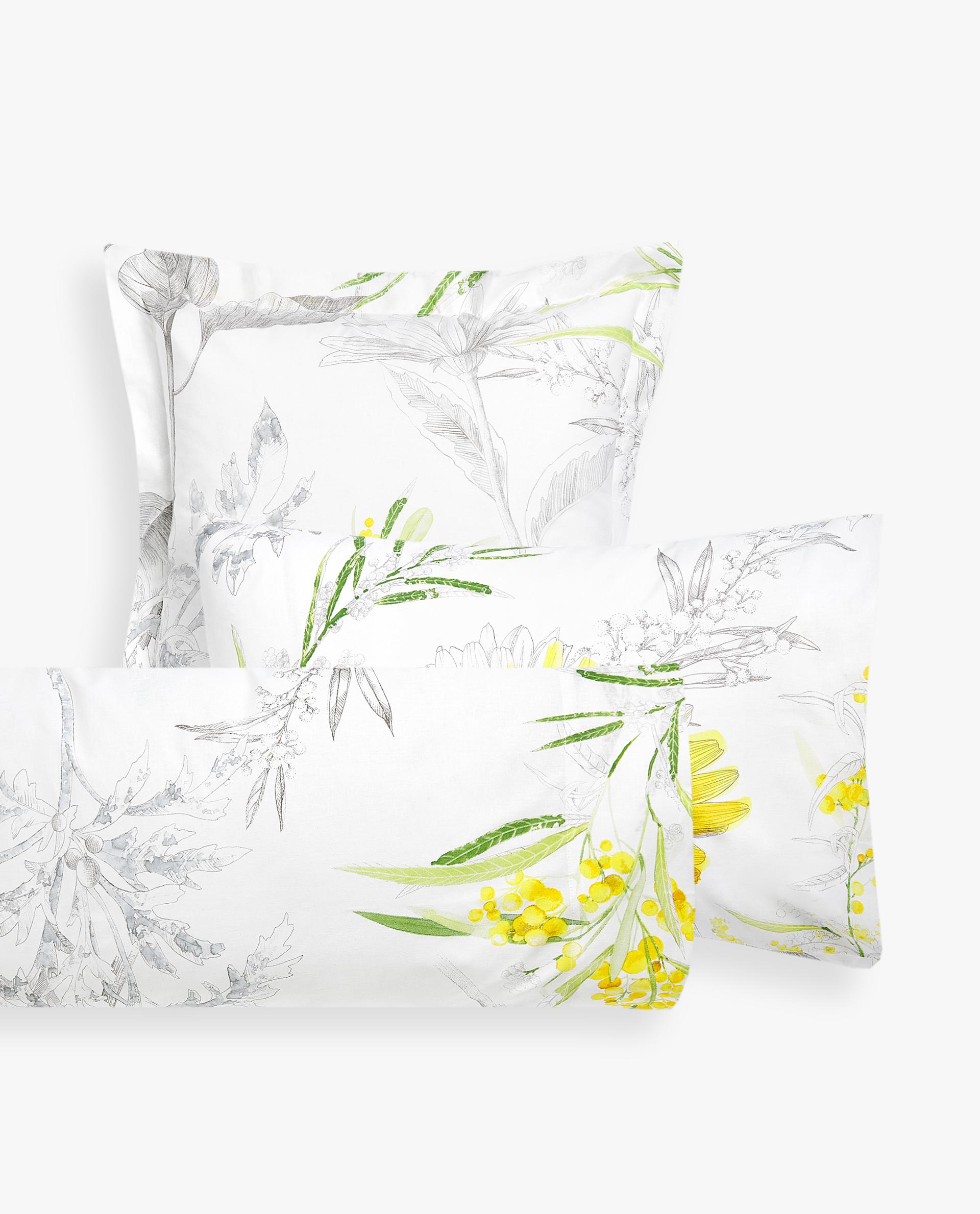 Fundas De Edredon Zara Home.Sunflower Pillowcase