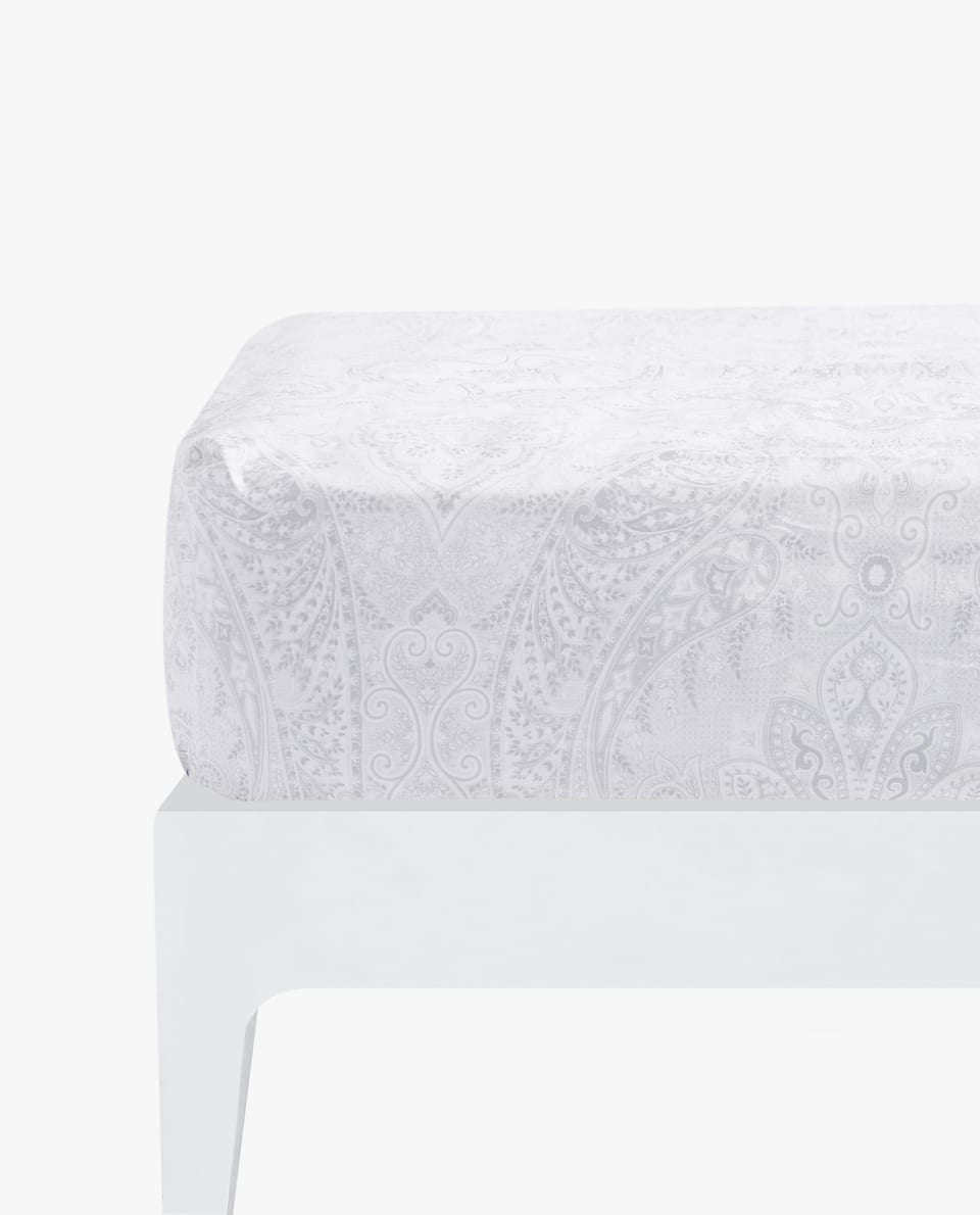 PAISLEY FITTED SHEET