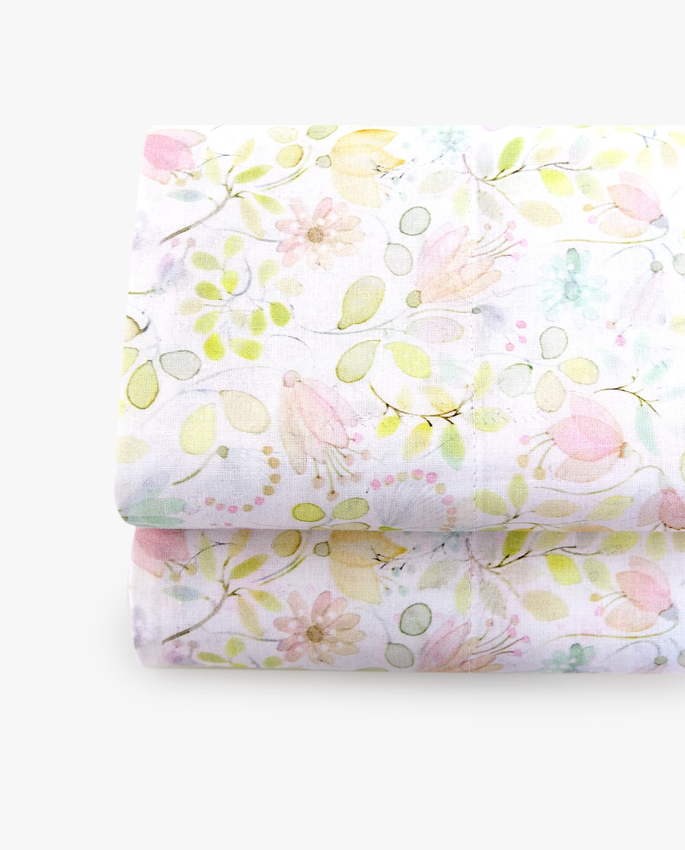 MINI FLOWER PRINT FLAT SHEET
