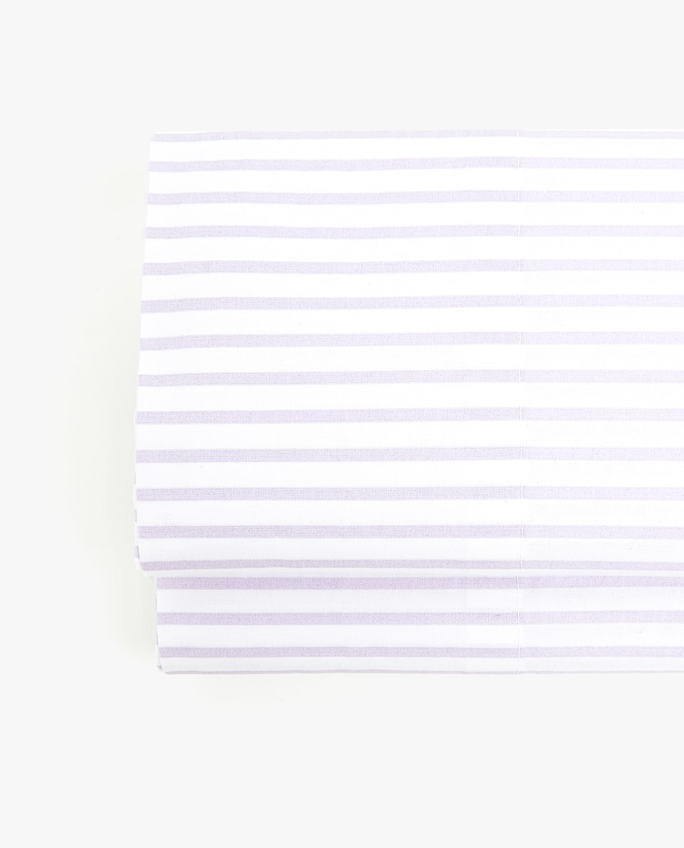 WASHED COTTON PERCALE FLAT SHEET