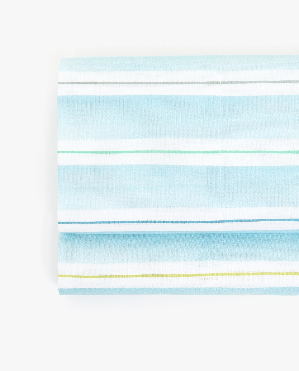 BLUE STRIPED FLAT SHEET