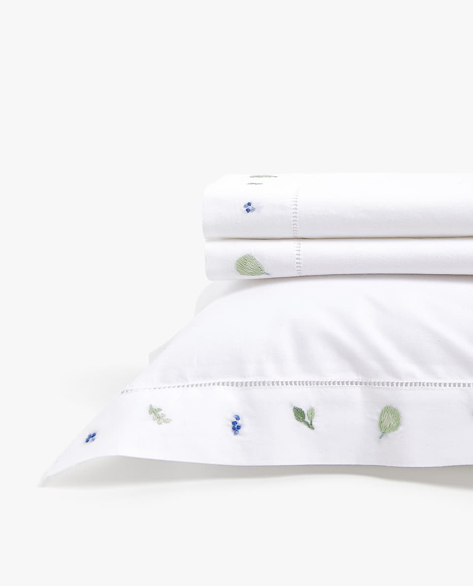 FRUIT MINI COT AND MOSES BASKET SHEET SET