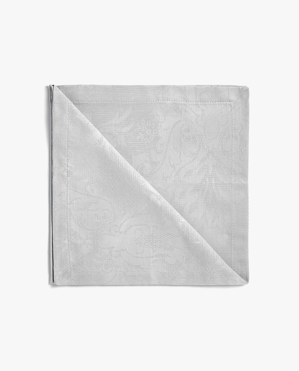 Floral jacquard cotton napkin (set of 2)