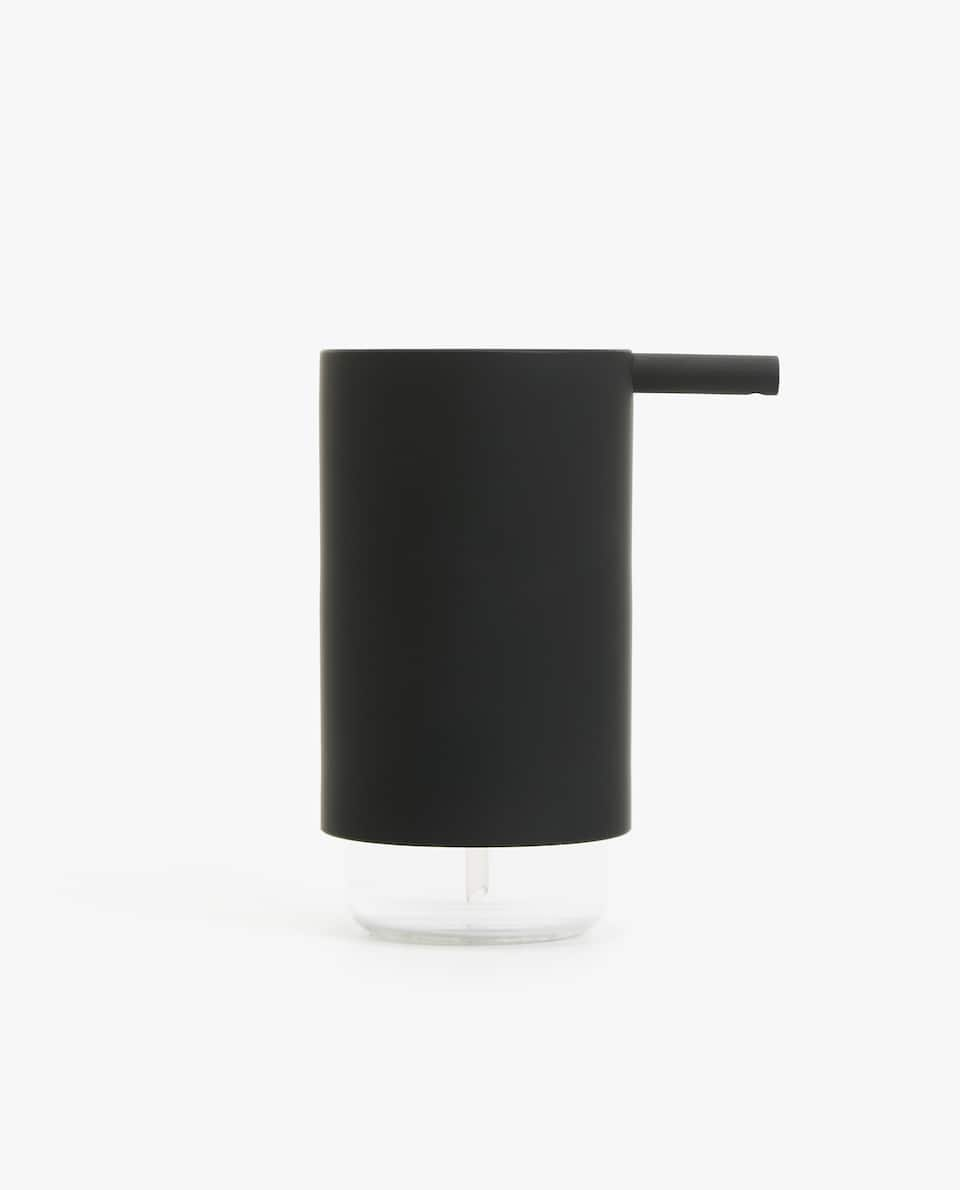 BLACK ACRYLIC SOAP DISPENSER