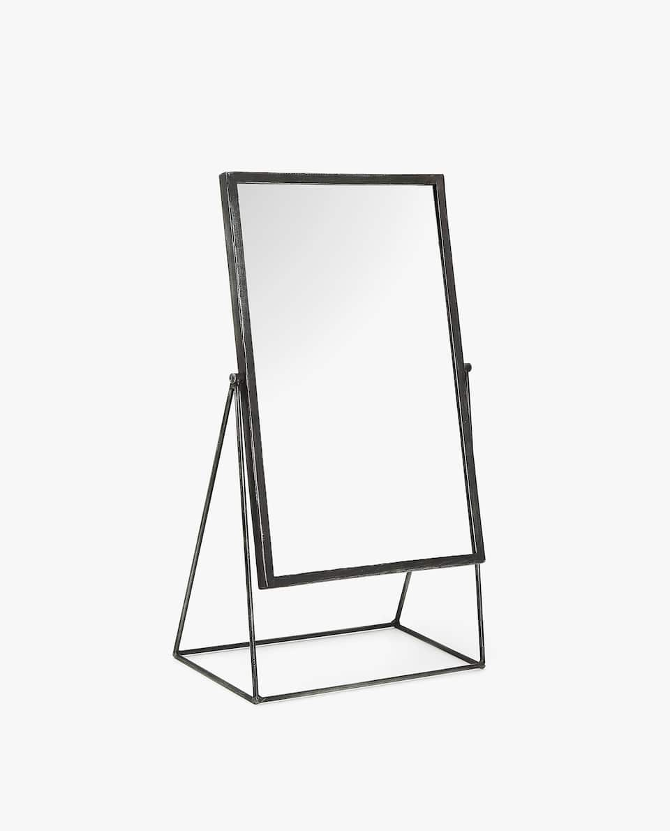 METAL STAND-UP MIRROR