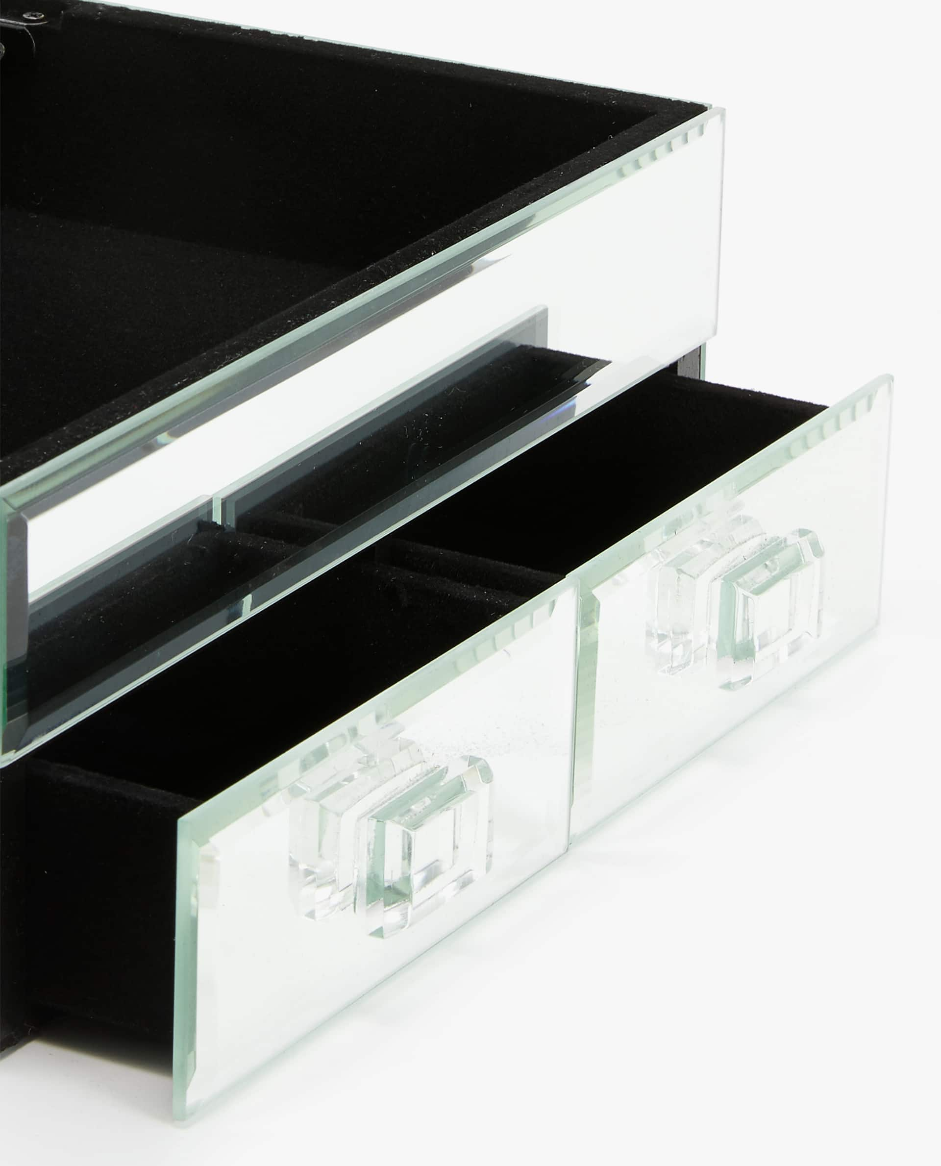 Image 5 Of The Product Mirrored Jewellery Box With Drawers