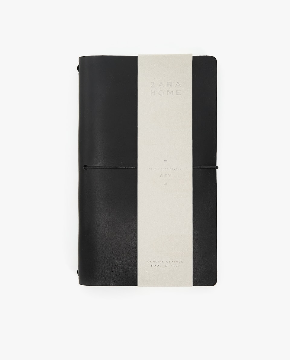 LARGE LEATHER TRAVEL JOURNAL