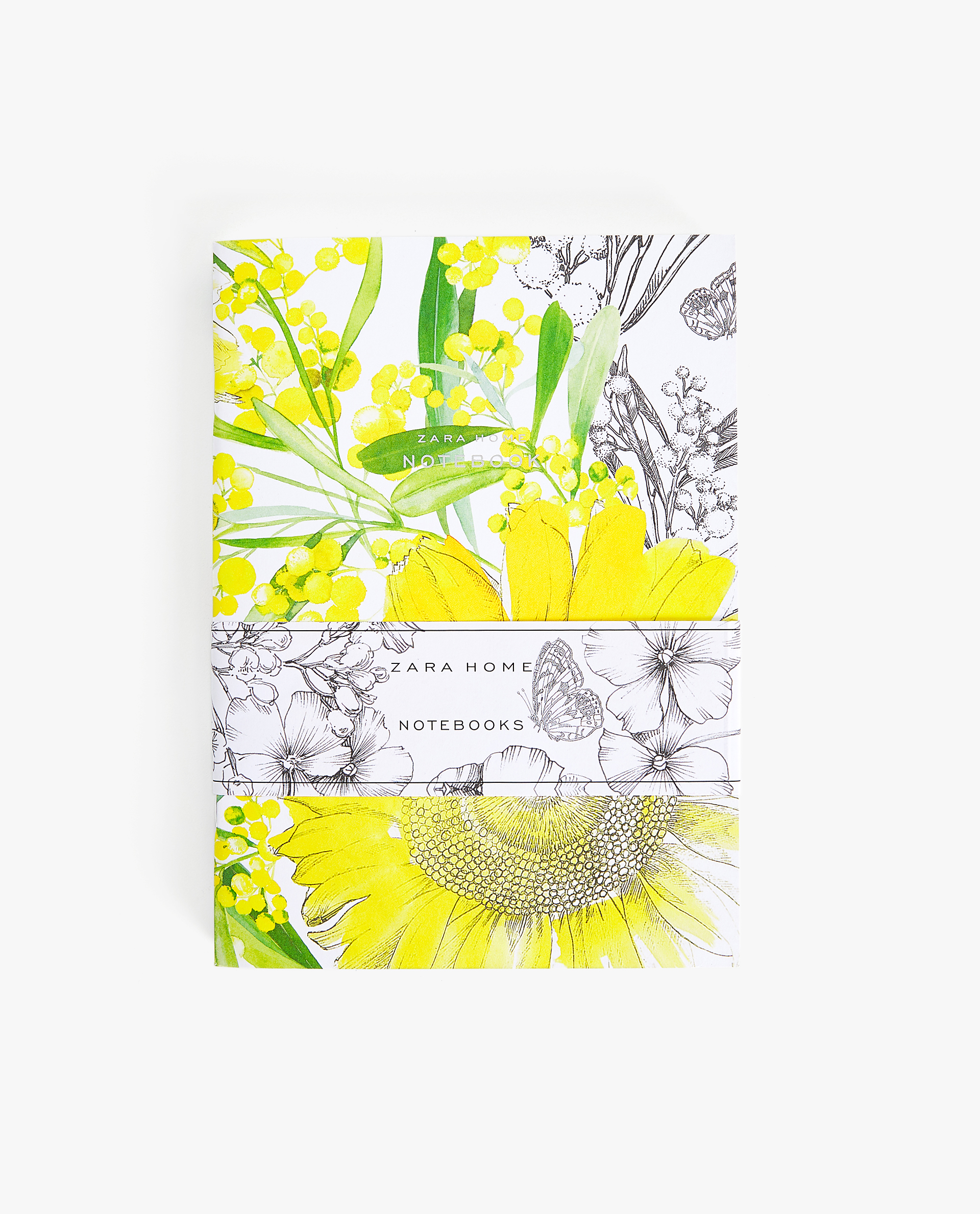 FLORAL PRINT NOTEBOOK (PACK OF 3)