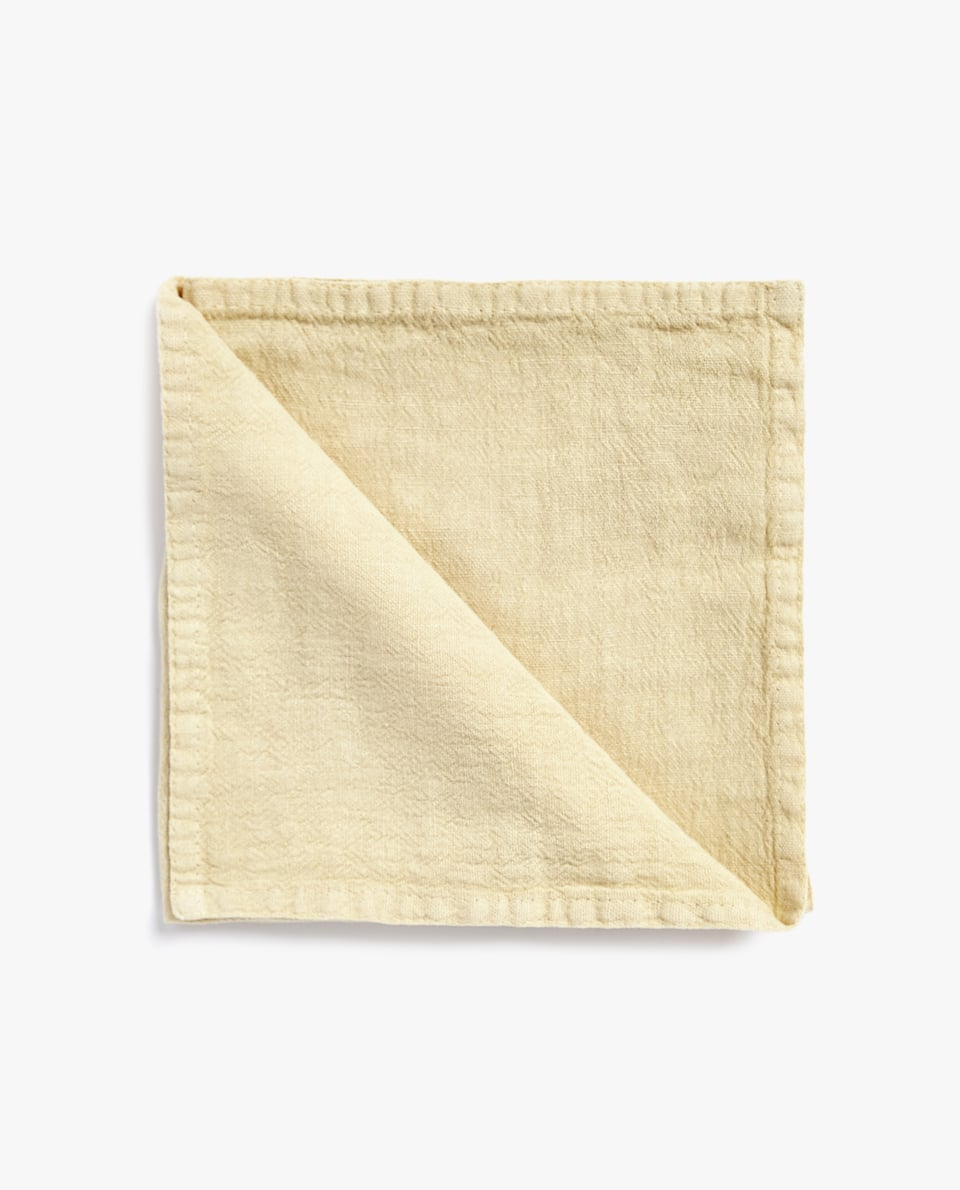 NAPKIN WITH DOUBLE STITCHING (PACK OF 4)