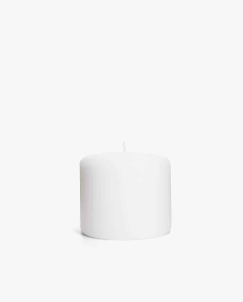 SMALL CYLINDRICAL CANDLE