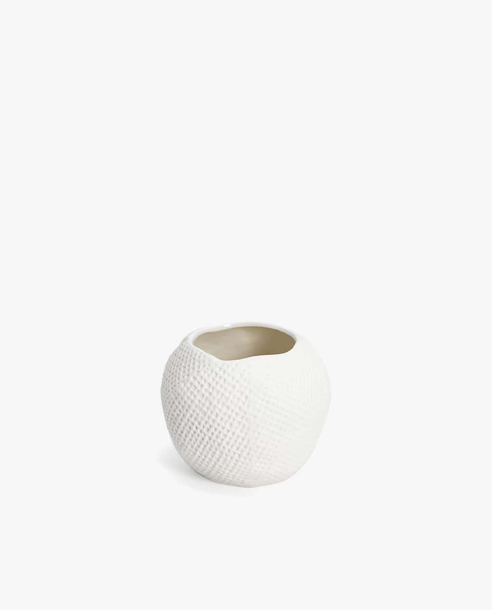 TEXTURED TEALIGHT HOLDER