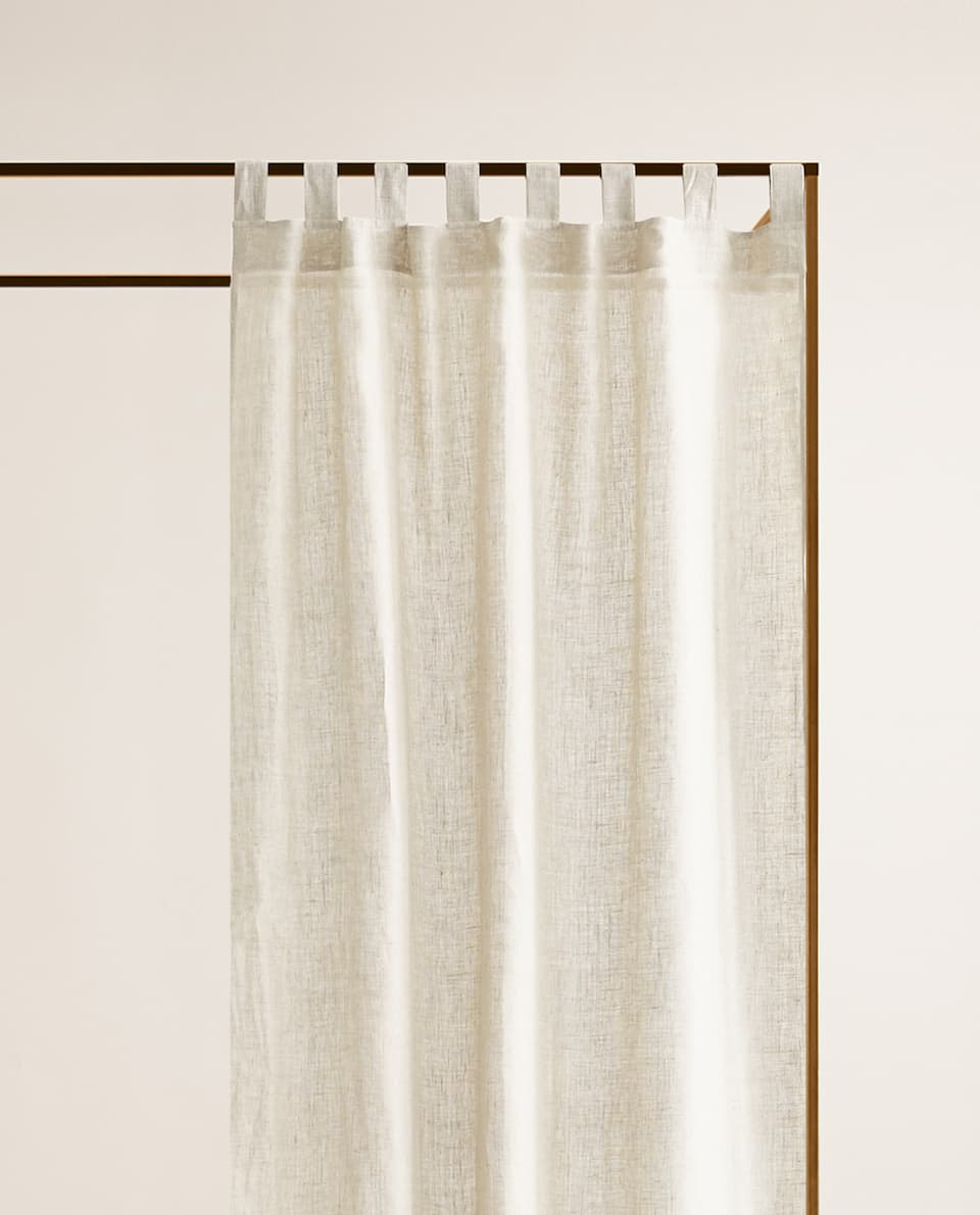 RUSTIC LINEN CURTAIN