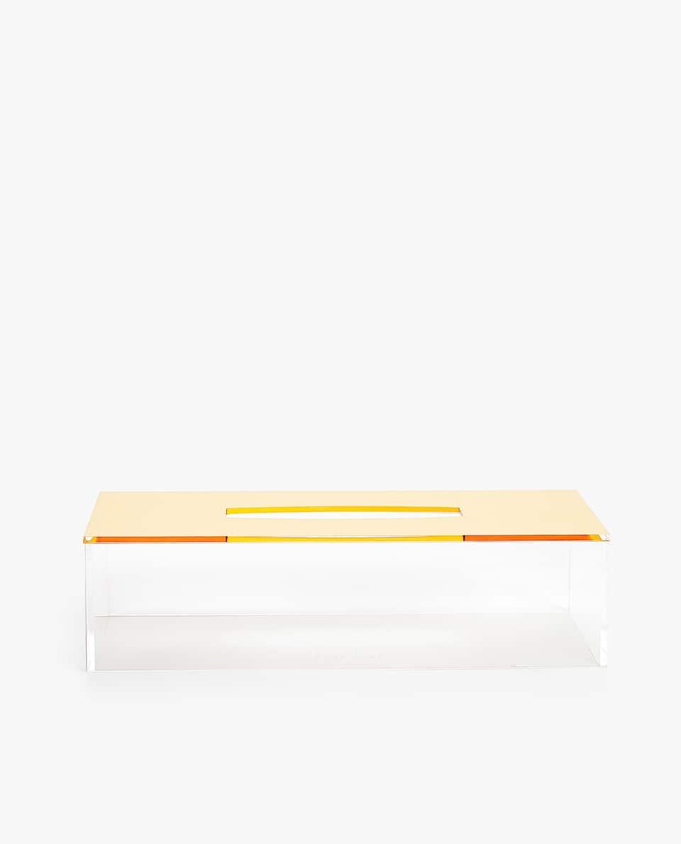 GOLD TISSUE BOX