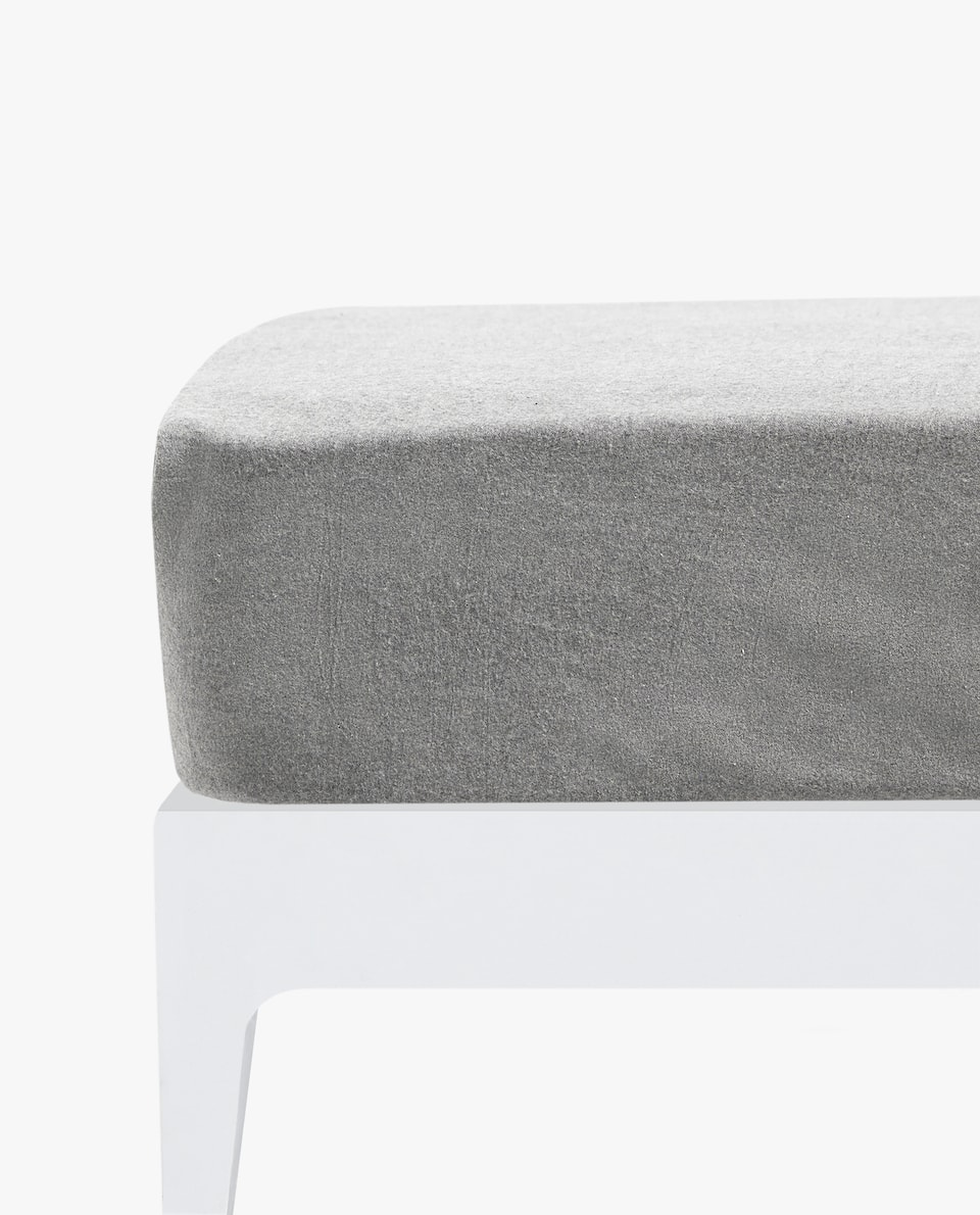 FLANNEL FITTED SHEET
