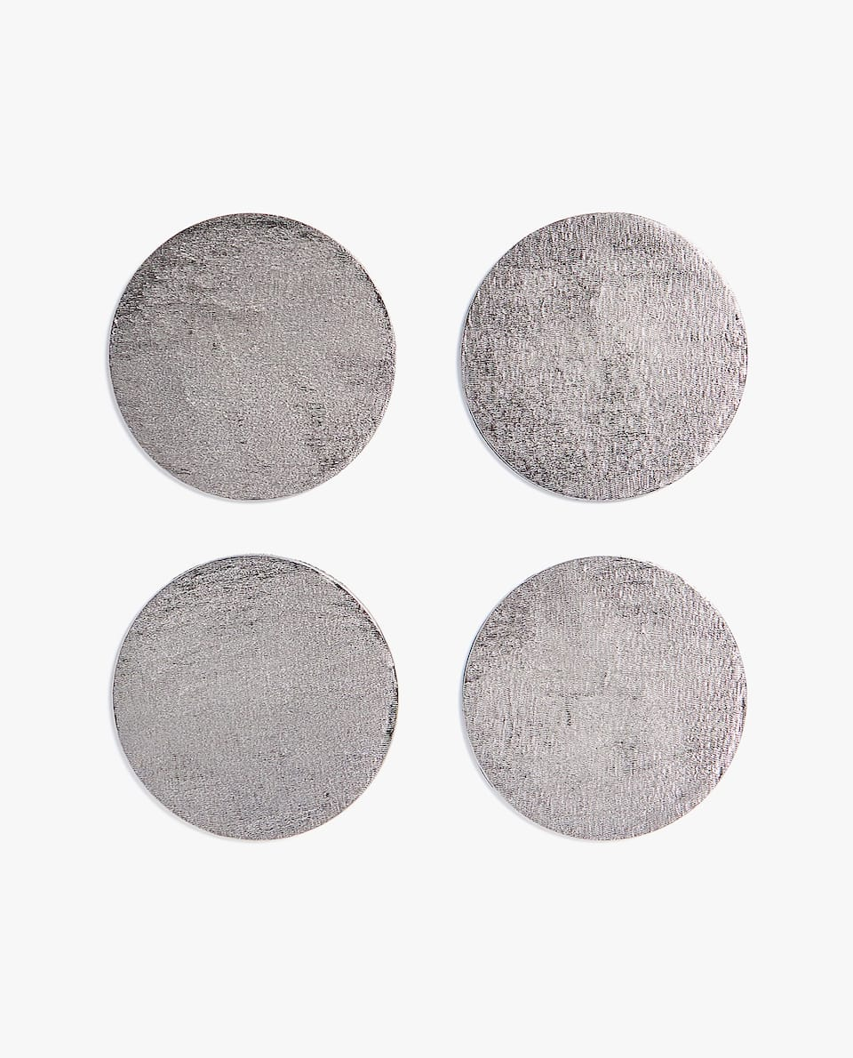 TEXTURED COASTER (PACK OF 4)