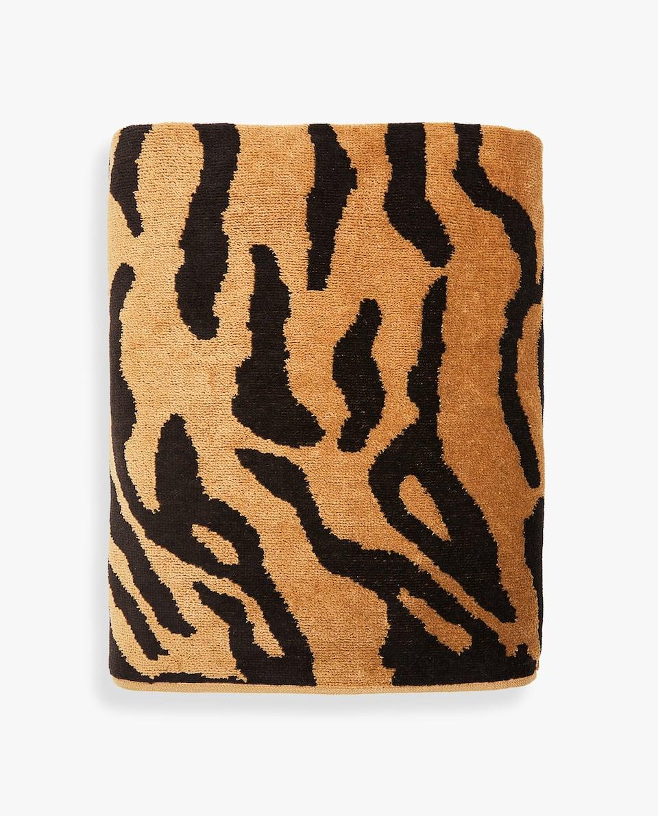 ZEBRA PRINT TOWEL