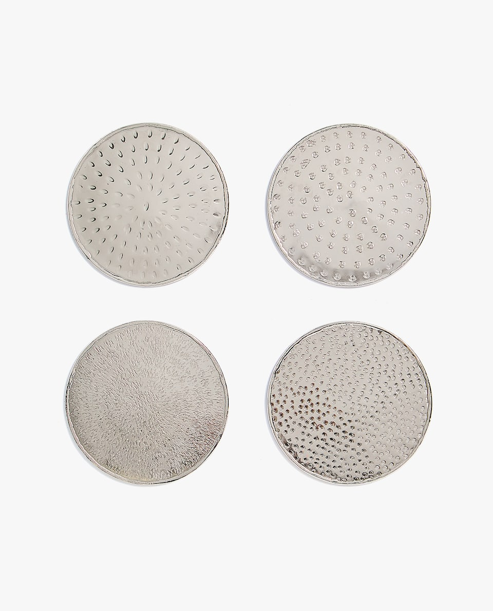 HAMMERED COASTER (PACK OF 4)