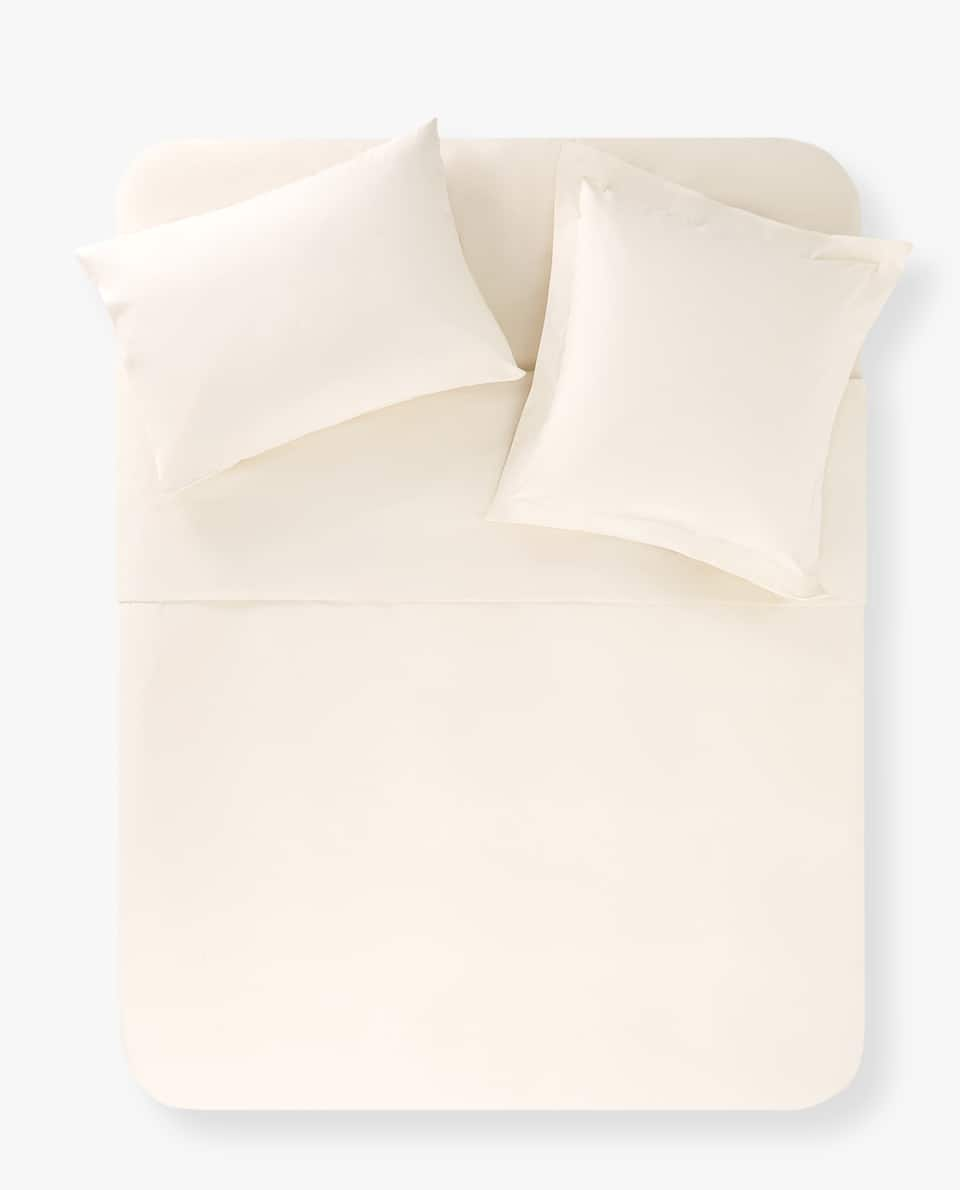 ECRU COTTON DUVET COVER