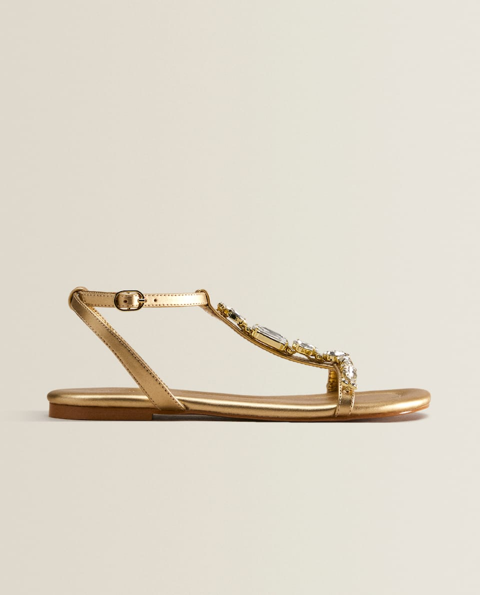 DIAMANTÉ SANDALS