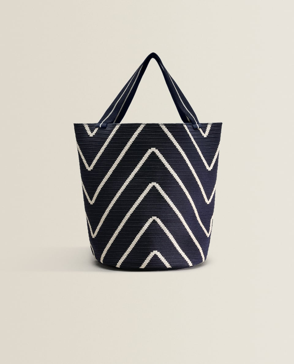 Technical tote bag