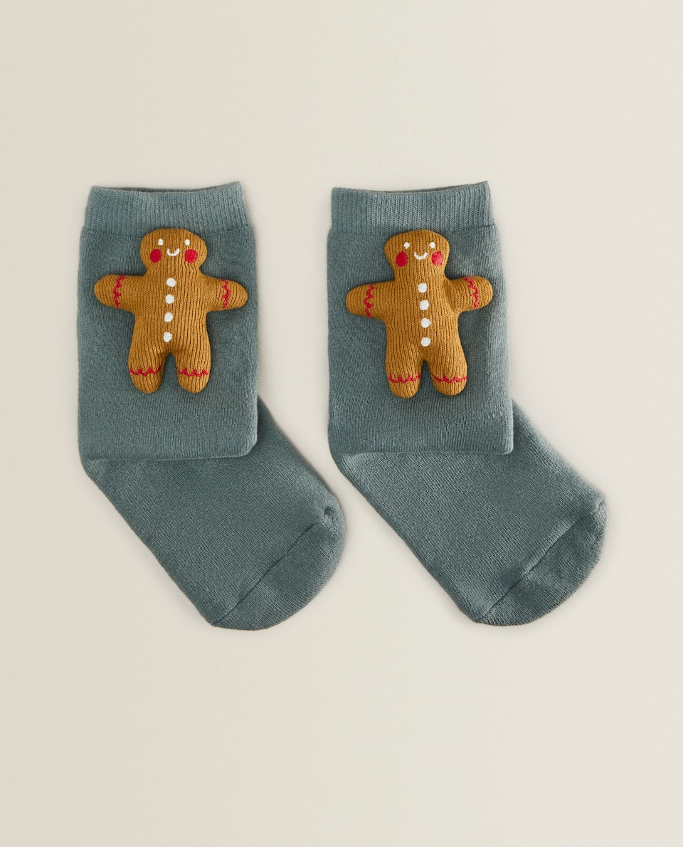 Gingerbread socks