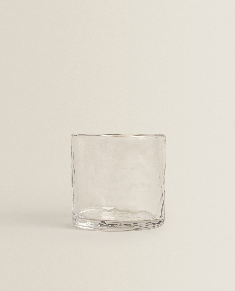 HAMMERED-EFFECT TUMBLER