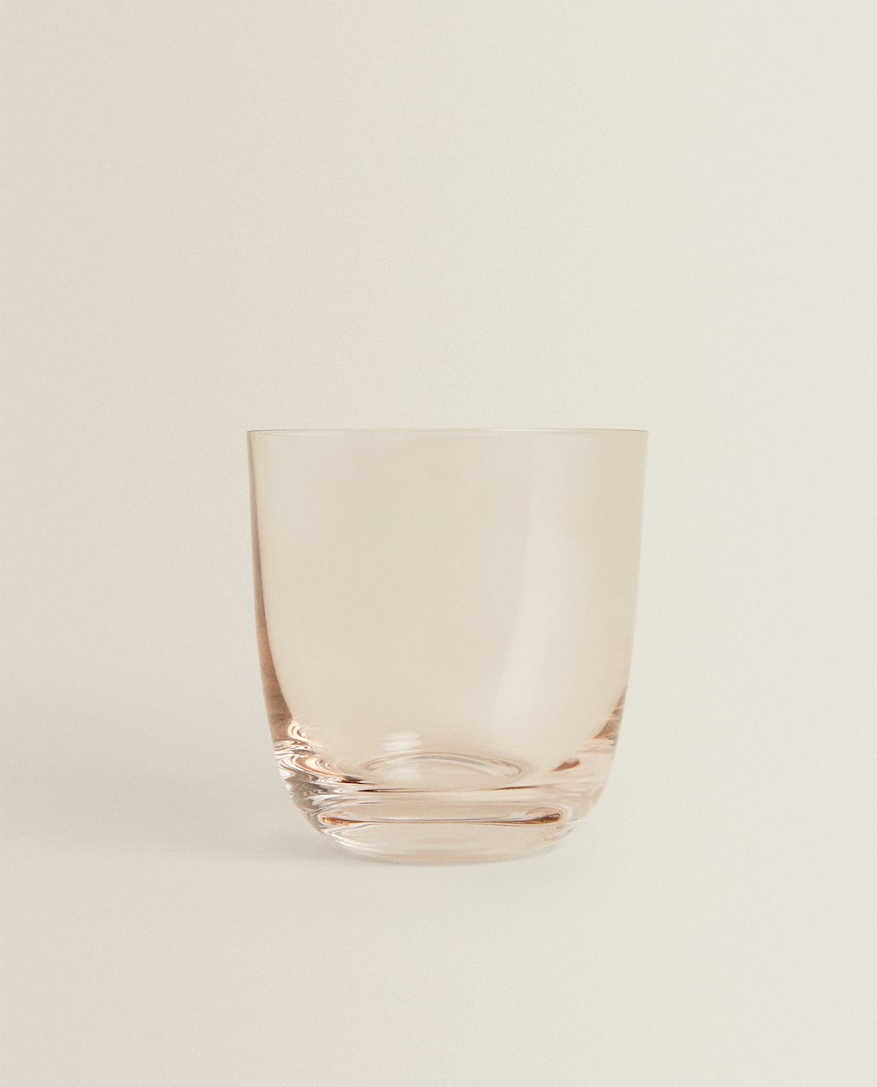 CRYSTALLINE GLASS TUMBLER