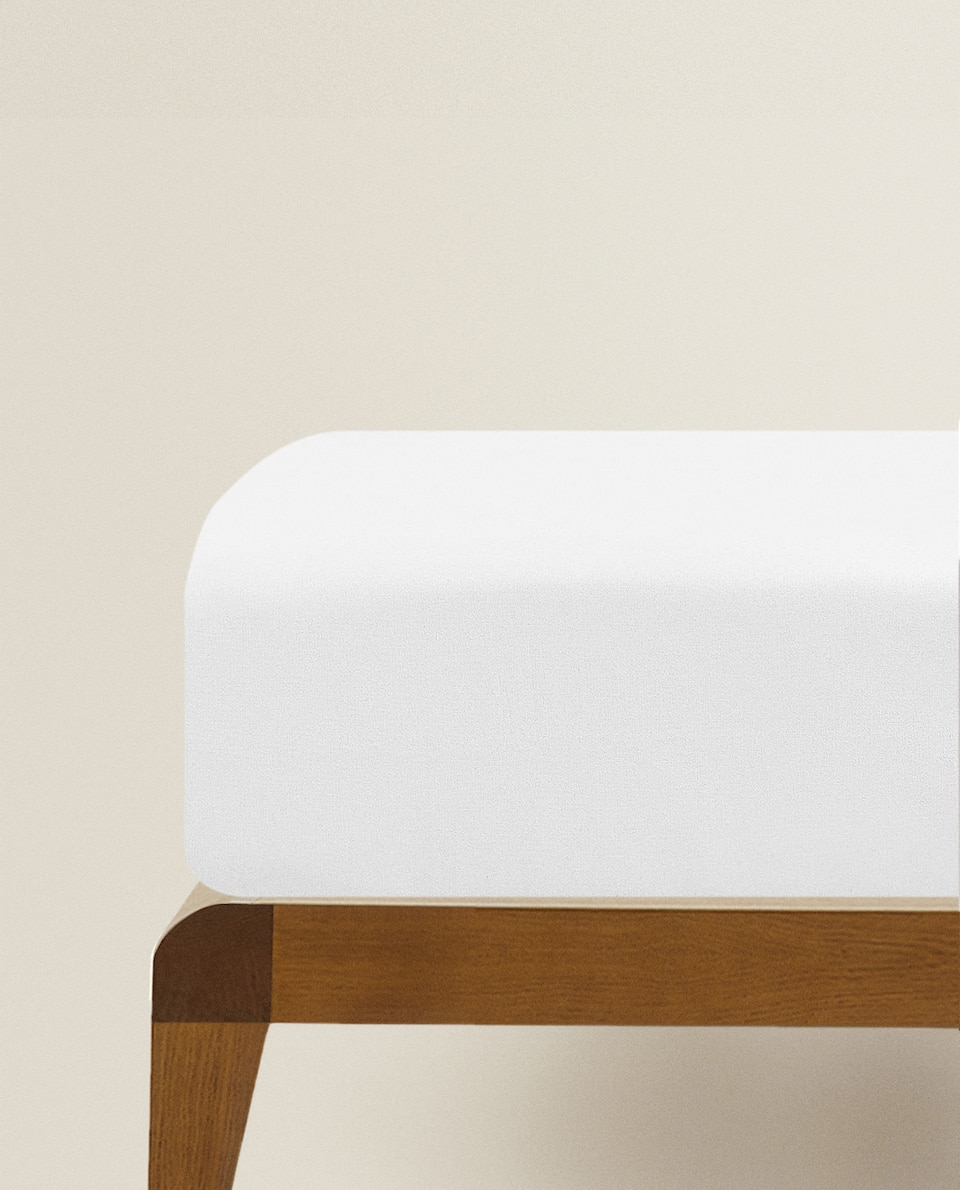 (500 THREAD COUNT) PERCALE FITTED SHEET