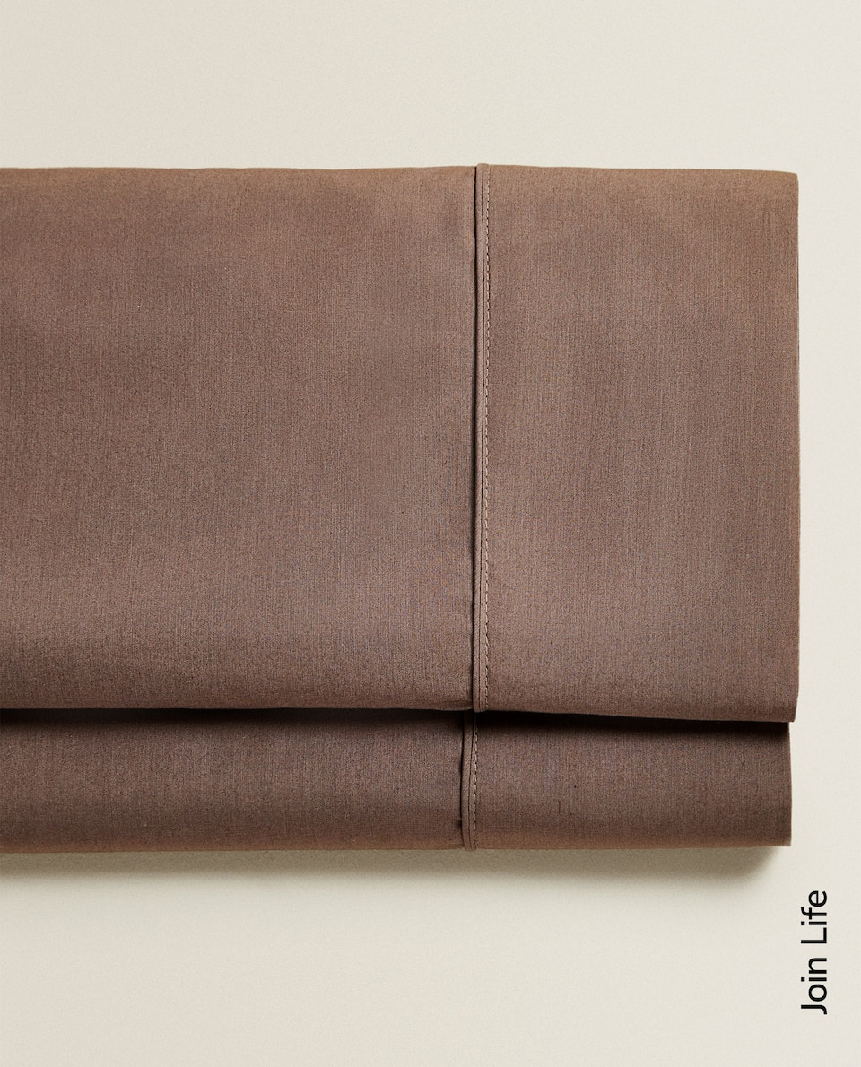 (300 THREAD COUNT) COTTON PERCALE FLAT SHEET