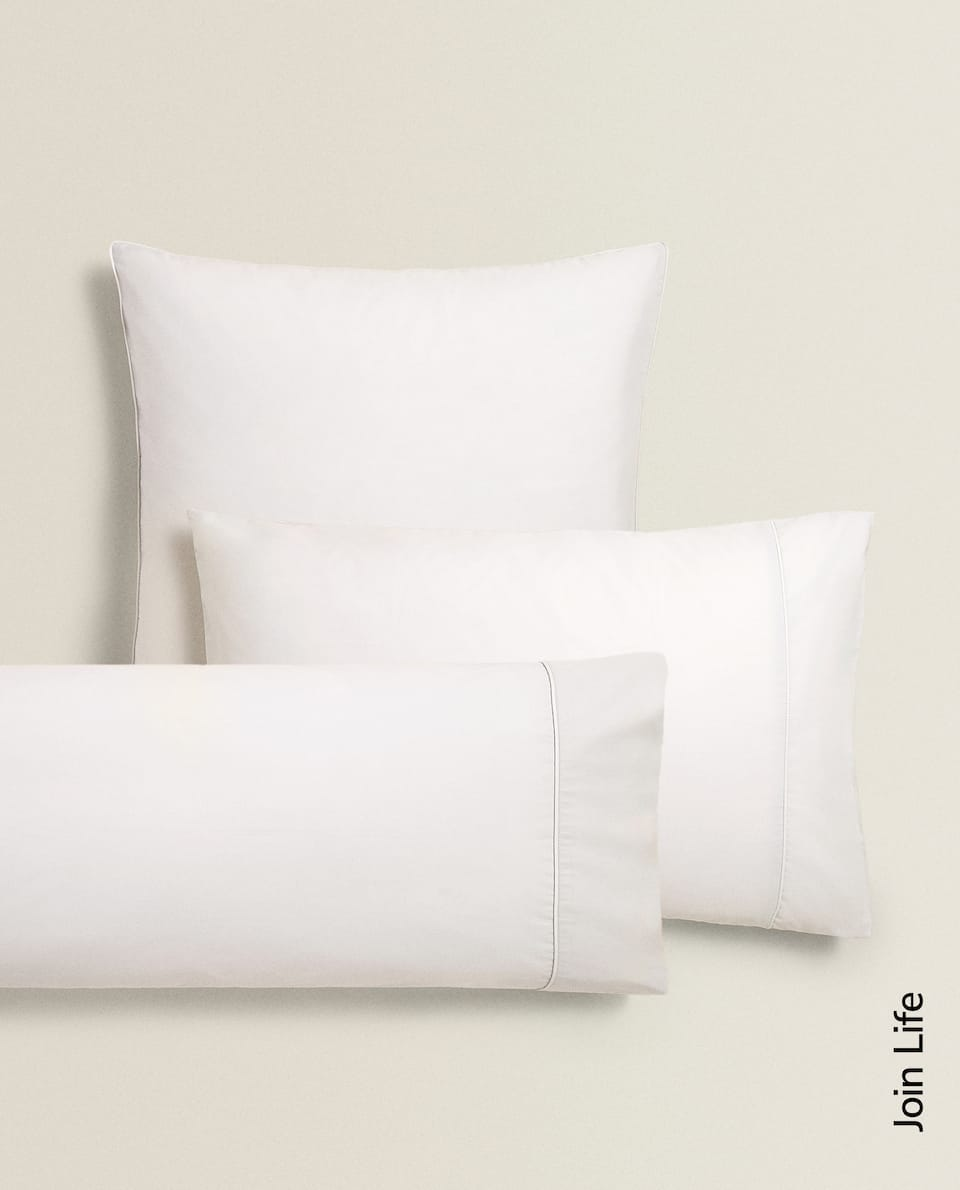 COTTON PERCALE PILLOWCASE (300 THREAD COUNT)