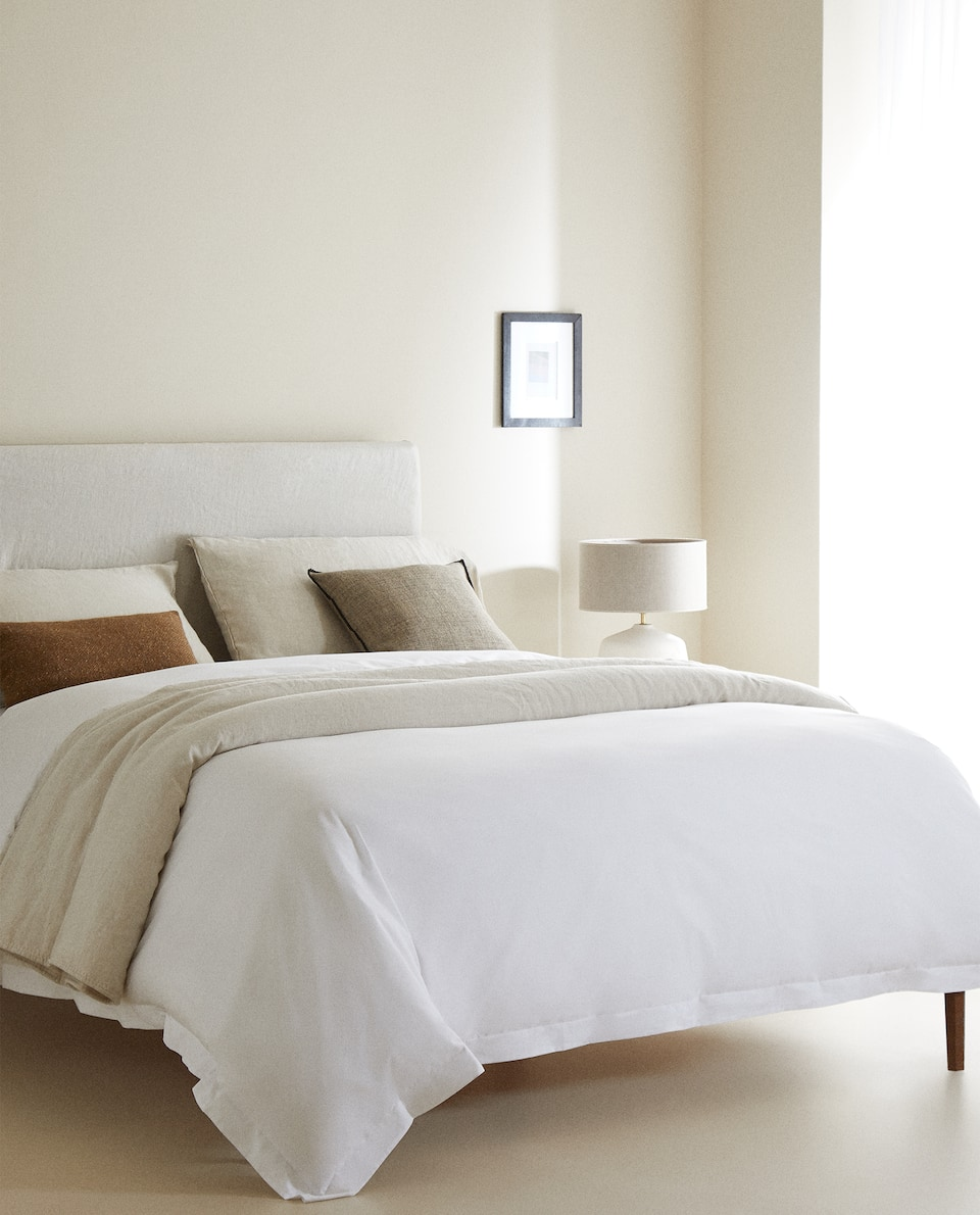(500 THREAD COUNT) SATEEN DUVET COVER