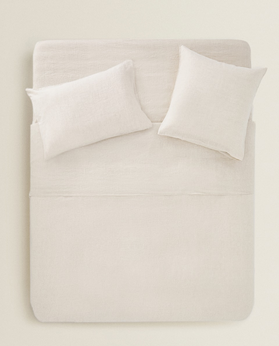 WASHED LINEN DUVET COVER