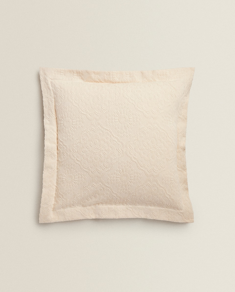 RAISED DESIGN CUSHION COVER