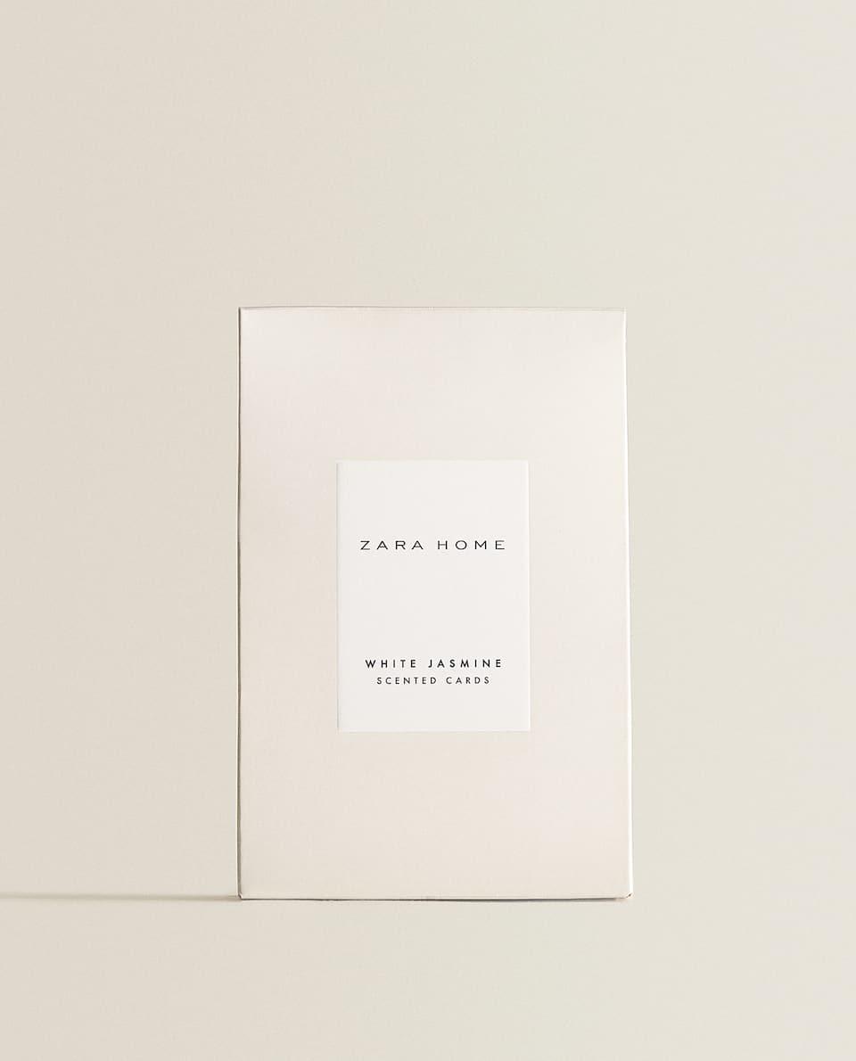 CARTES PARFUMÉES WHITE JASMINE (LOT DE 3)