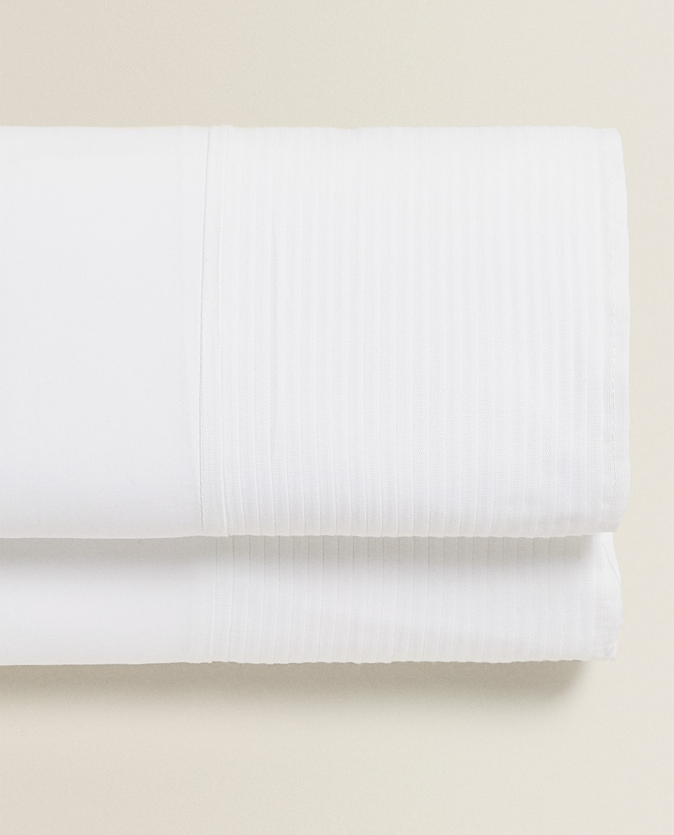 PLEATED FLAT SHEET