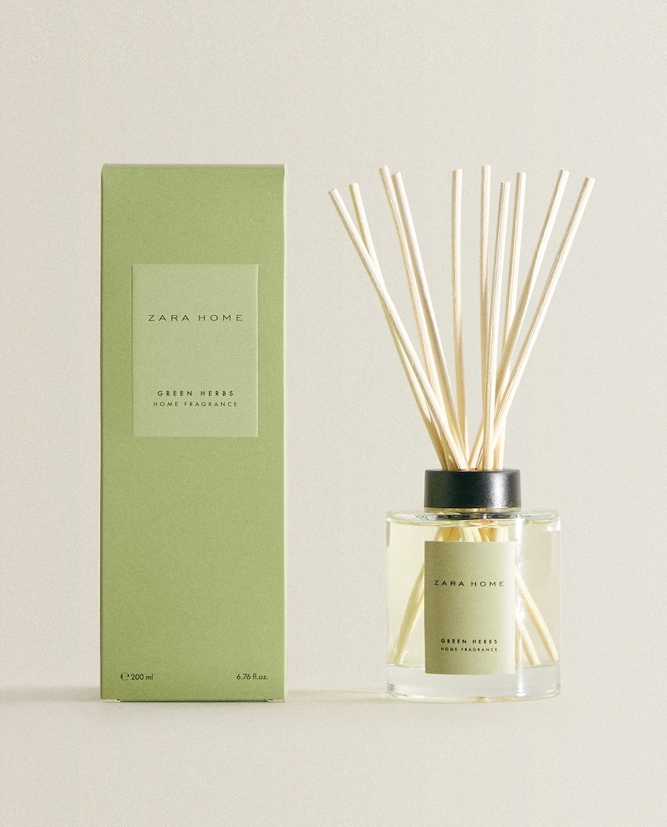 (200 ML) GREEN HERBS REED DIFFUSER