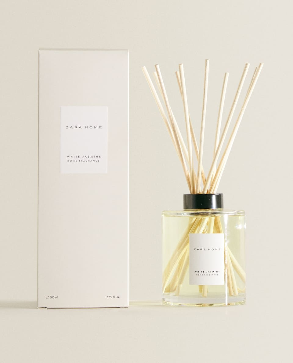 (500 ML) DEODORANTE PER AMBIENTI IN STICKS WHITE JASMINE