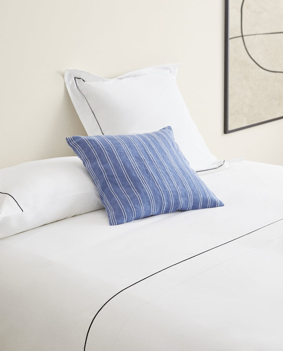 DUVET COVER WITH TRIM